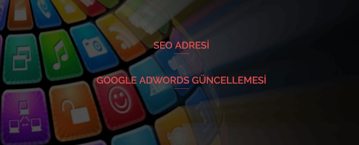 Google Adwords Güncellemesi