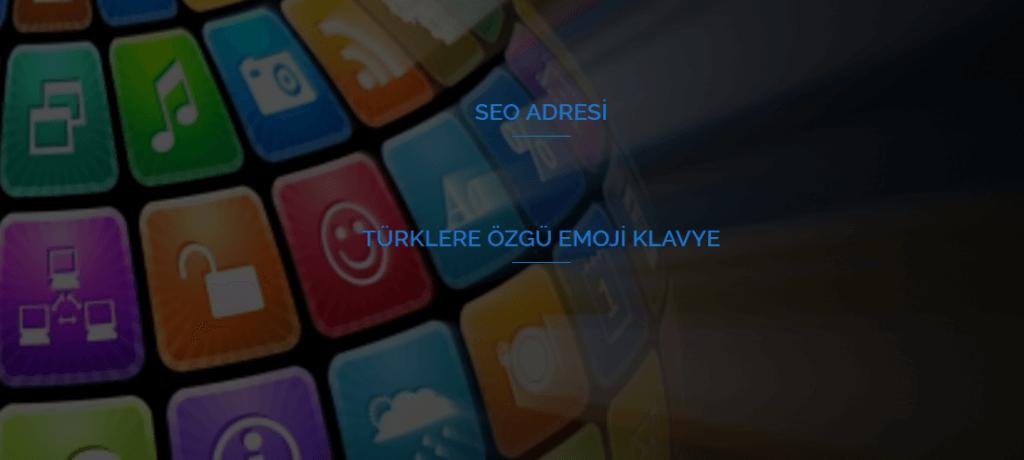 Türklere Özgü Emoji Klavye