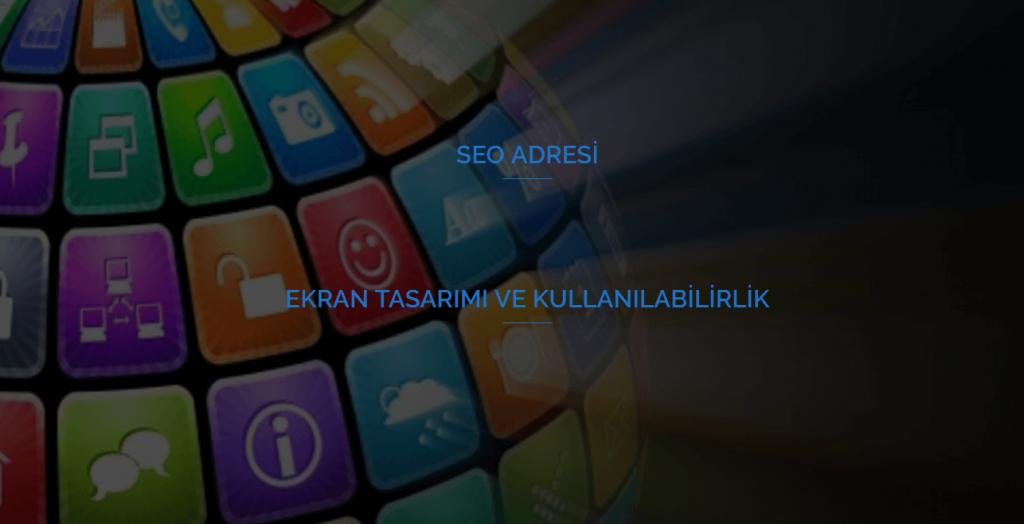 Ekran Tasarımı ve Kullanılabilirlik